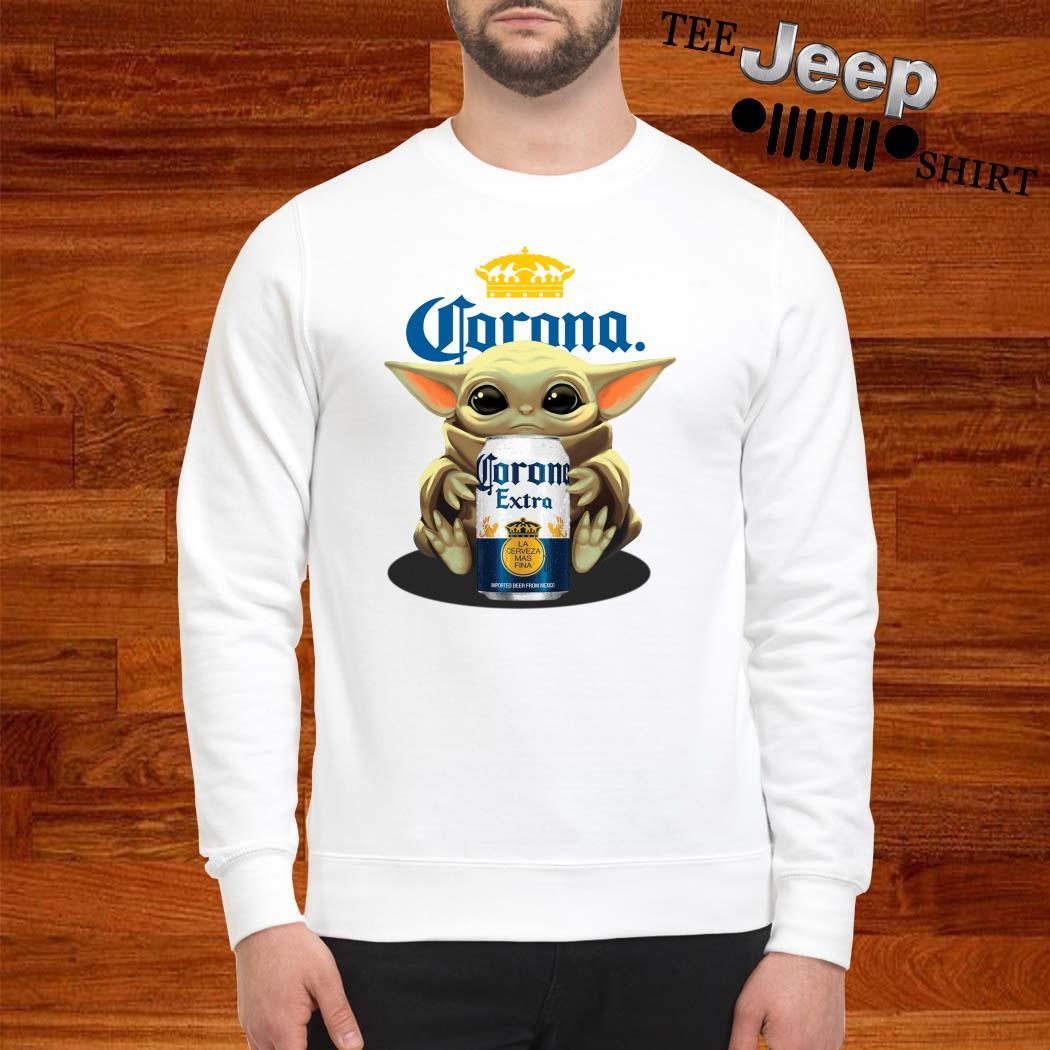 Baby Yoda Hug Corona Extra Sweatshirt