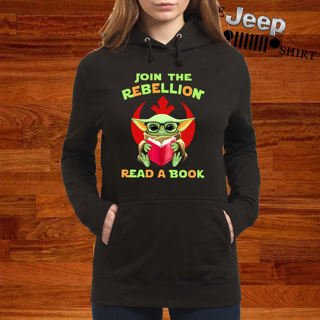 Baby Yoda Join The Rebellion Read A Book Hoodie