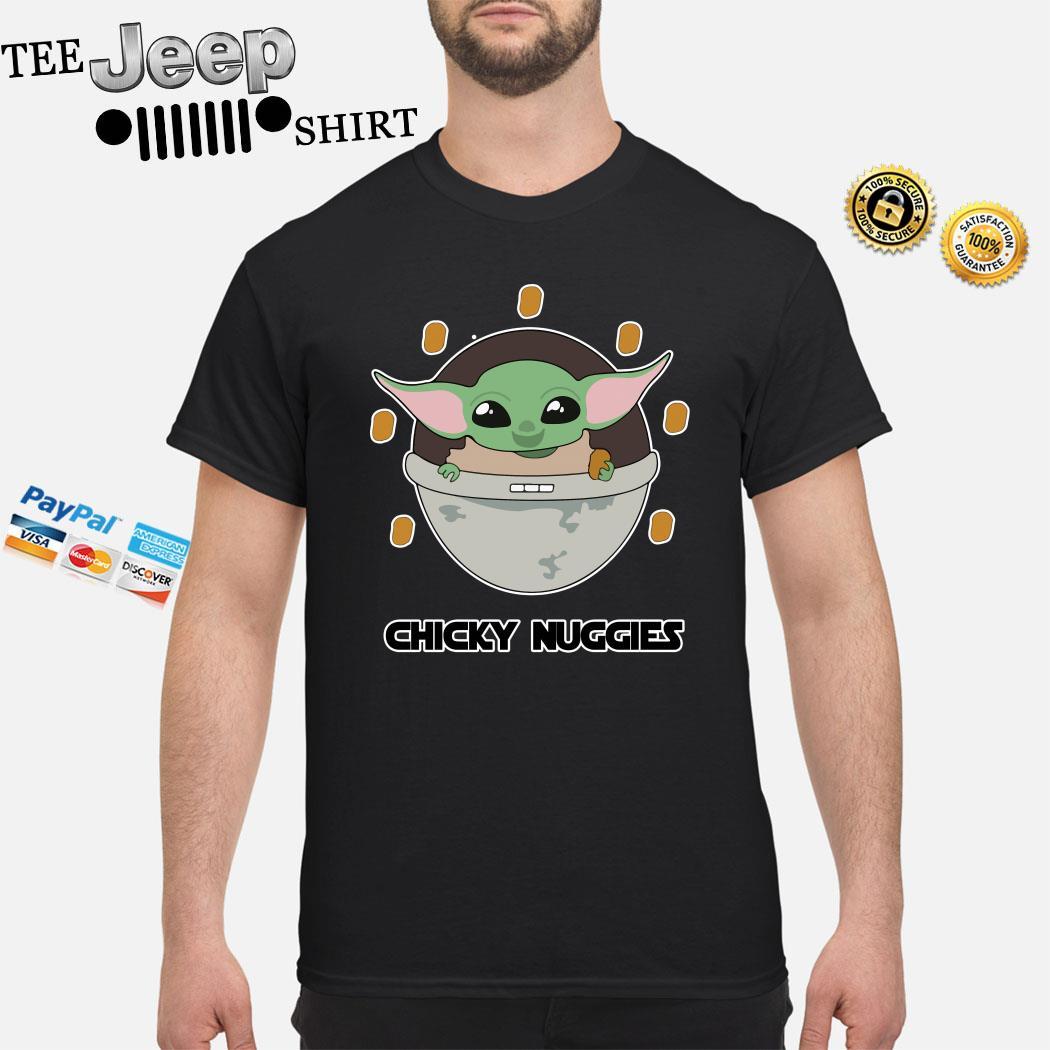 Baby Yoda The Mandalorian Chicky Nuggies Shirt