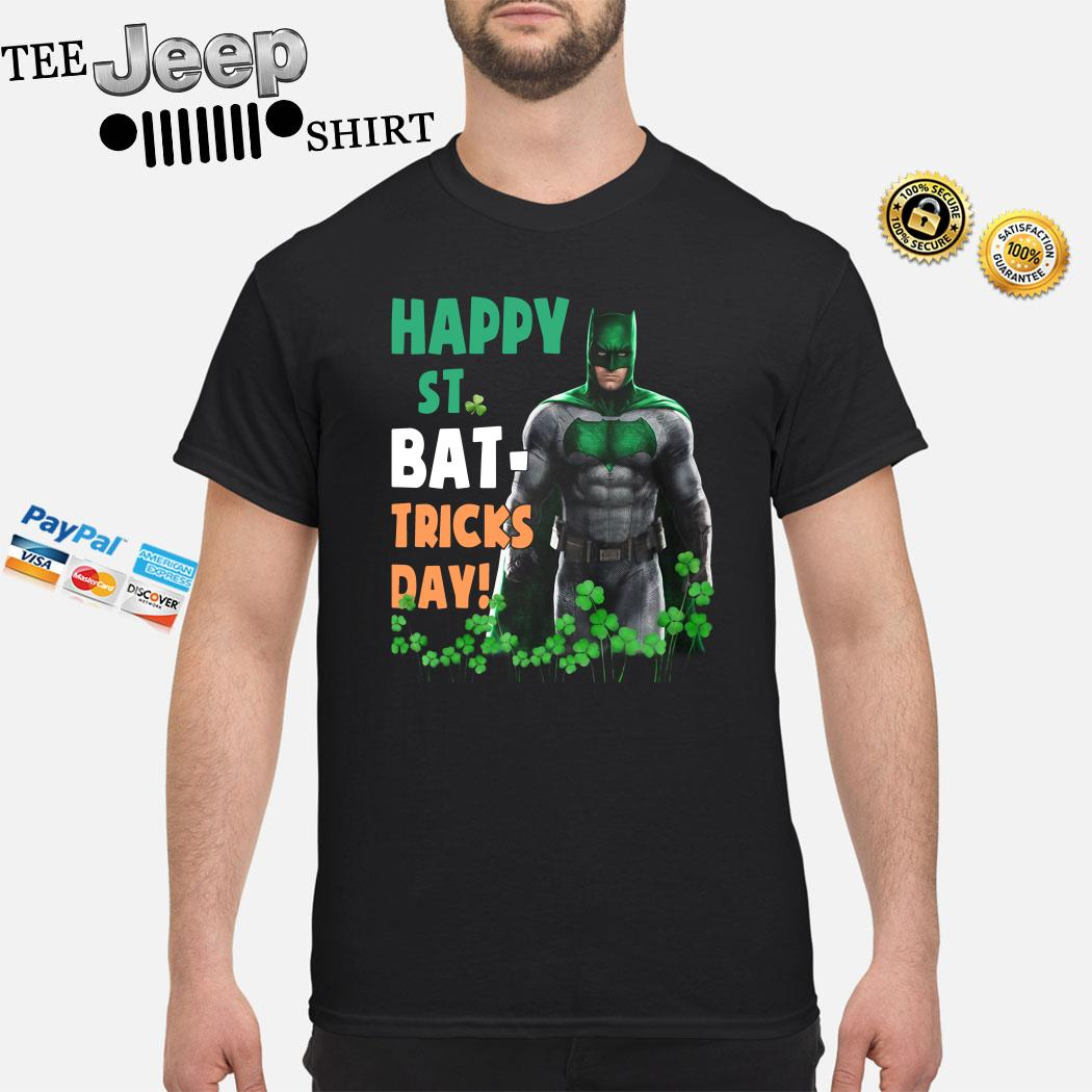 Bat Man Happy St. Bat-Tricks Day Shirt