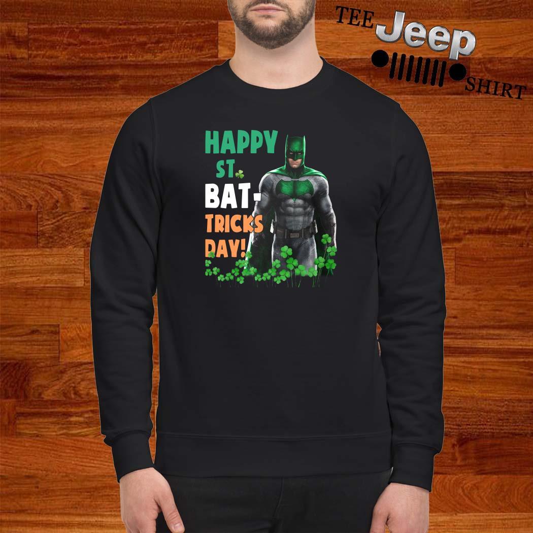 Bat Man Happy St. Bat-Tricks Day Sweatshirt