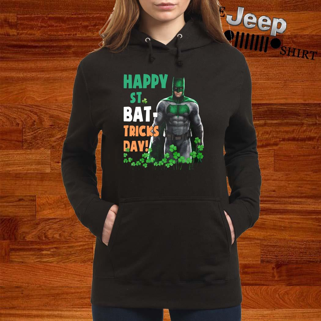 Bat Man Happy St. Bat-Tricks Day Hoodie