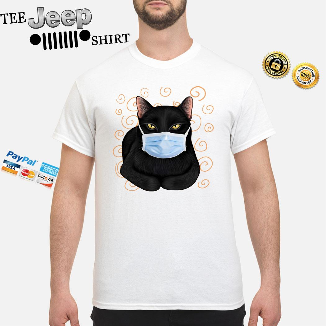 Black Cat Masked Shirt