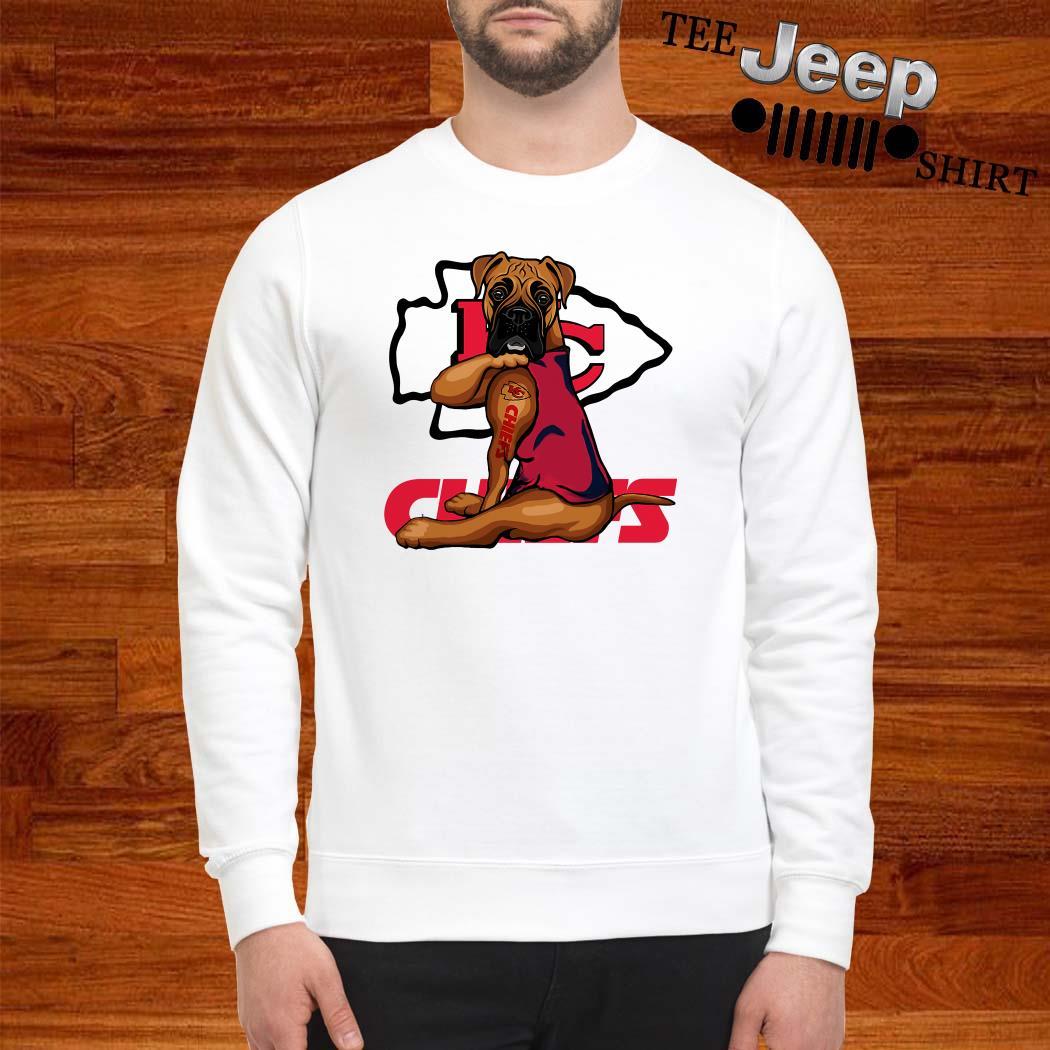 Boxer Tattoo Kansas City Chiefs Sweatshirt