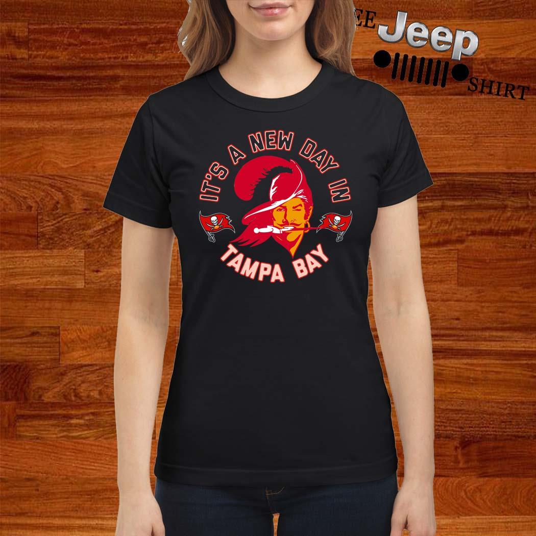 Bucco Brady It's A New Day In Tampa Bay Shirt ladies-shirt