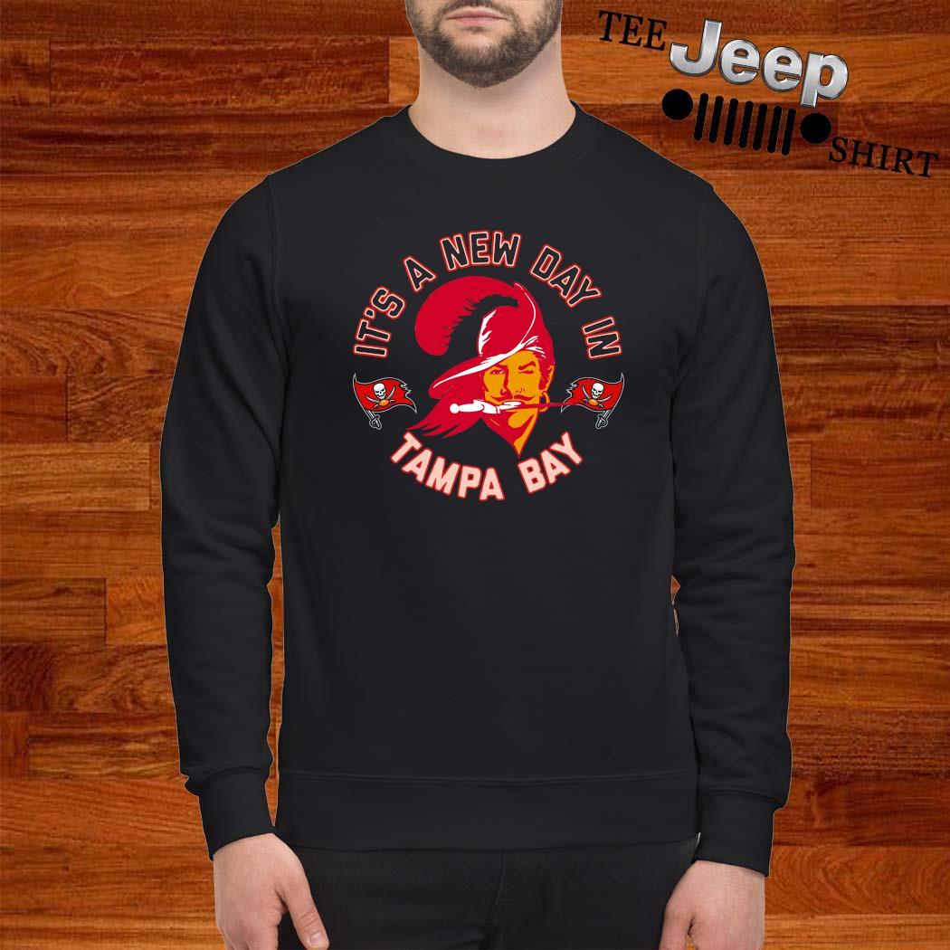 Bucco Brady It's A New Day In Tampa Bay Shirt sweatshirt