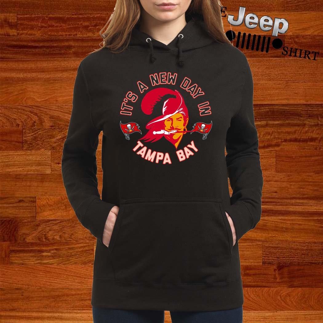 Bucco Brady It's A New Day In Tampa Bay Shirt women-hoodie