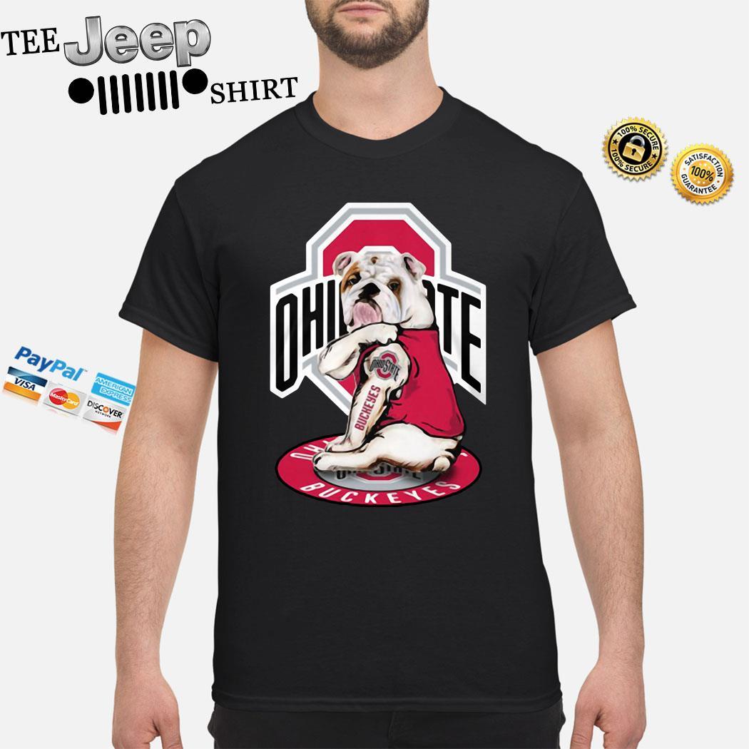 Bulldog Ohio State Buckeyes Shirt