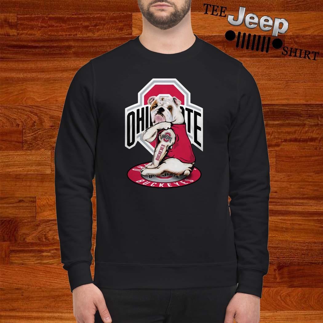 Bulldog Ohio State Buckeyes Sweatshirt