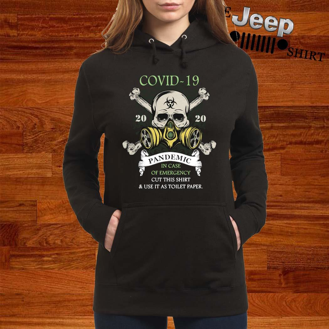 Covid-19 Pandemic In Case Of Emergency Cut This Shirt women-hoodie
