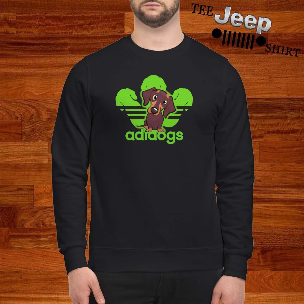 Dachshund Adidas Adidogs Sweatshirt