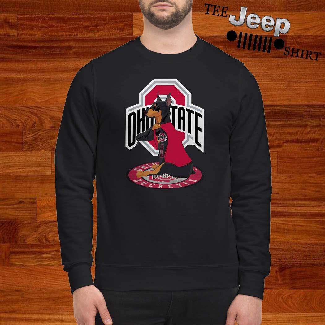 Dobermann Ohio State Buckeyes Sweatshirt