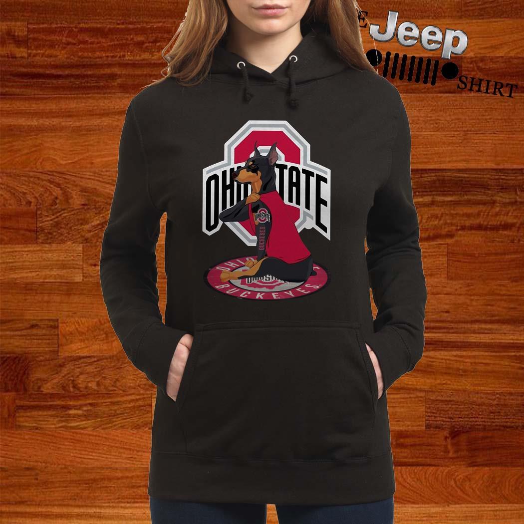 Dobermann Ohio State Buckeyes Hoodie