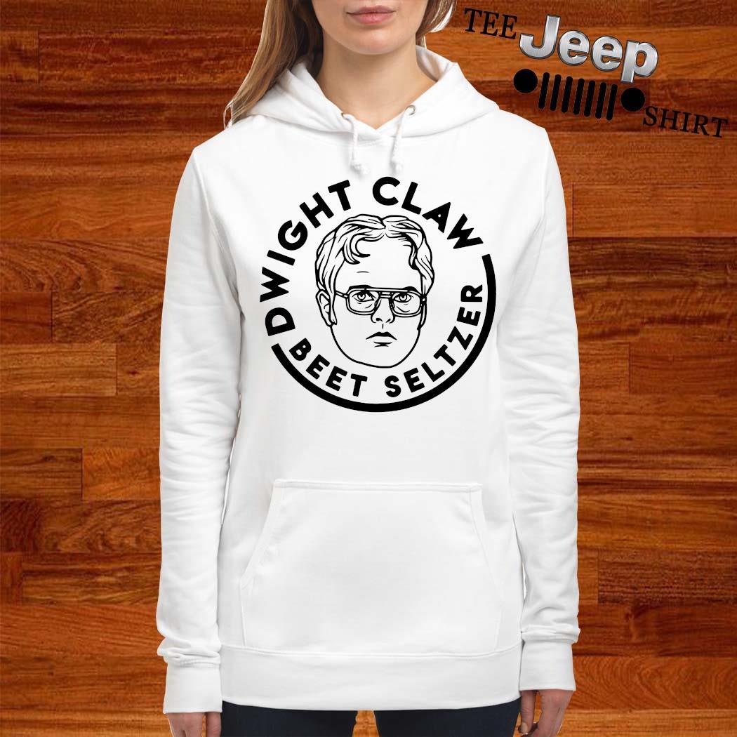 Dwight Claw Beet Seltzer Shirt women-hoodie