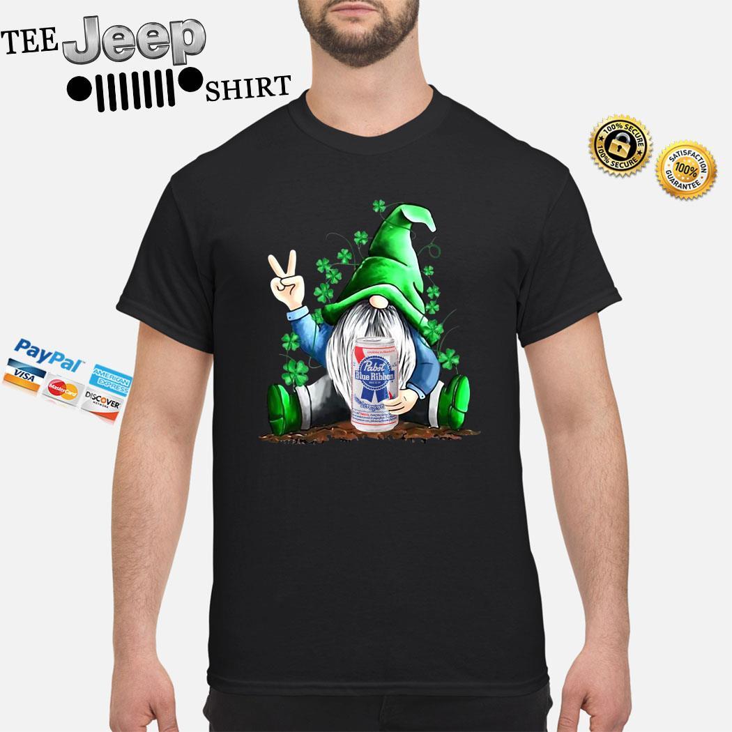 Gnomes Lucky Hug Pabst Blue Ribbon Shirt