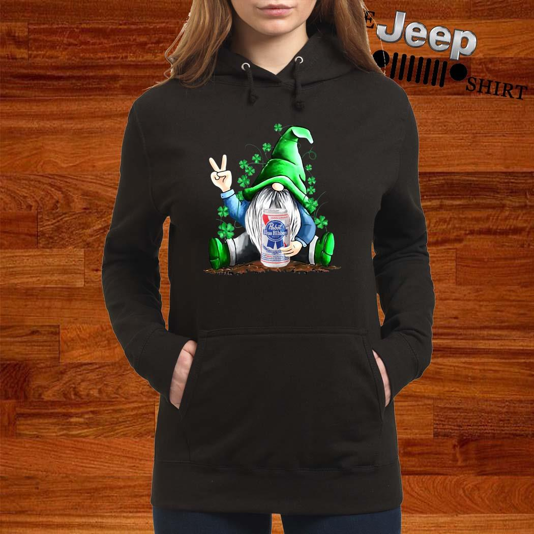 Gnomes Lucky Hug Pabst Blue Ribbon Hoodie