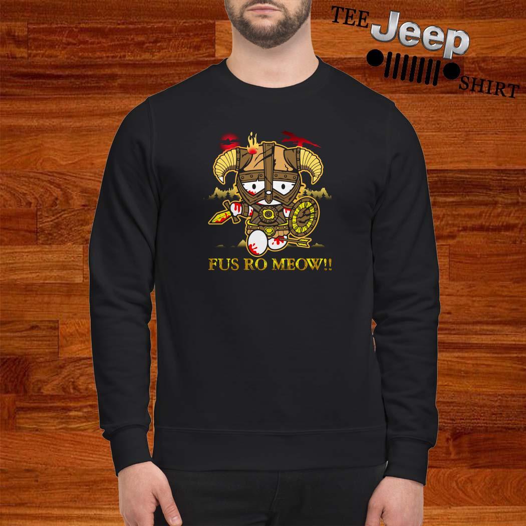 Hello Kitty Fus Ro Meow Sweatshirt