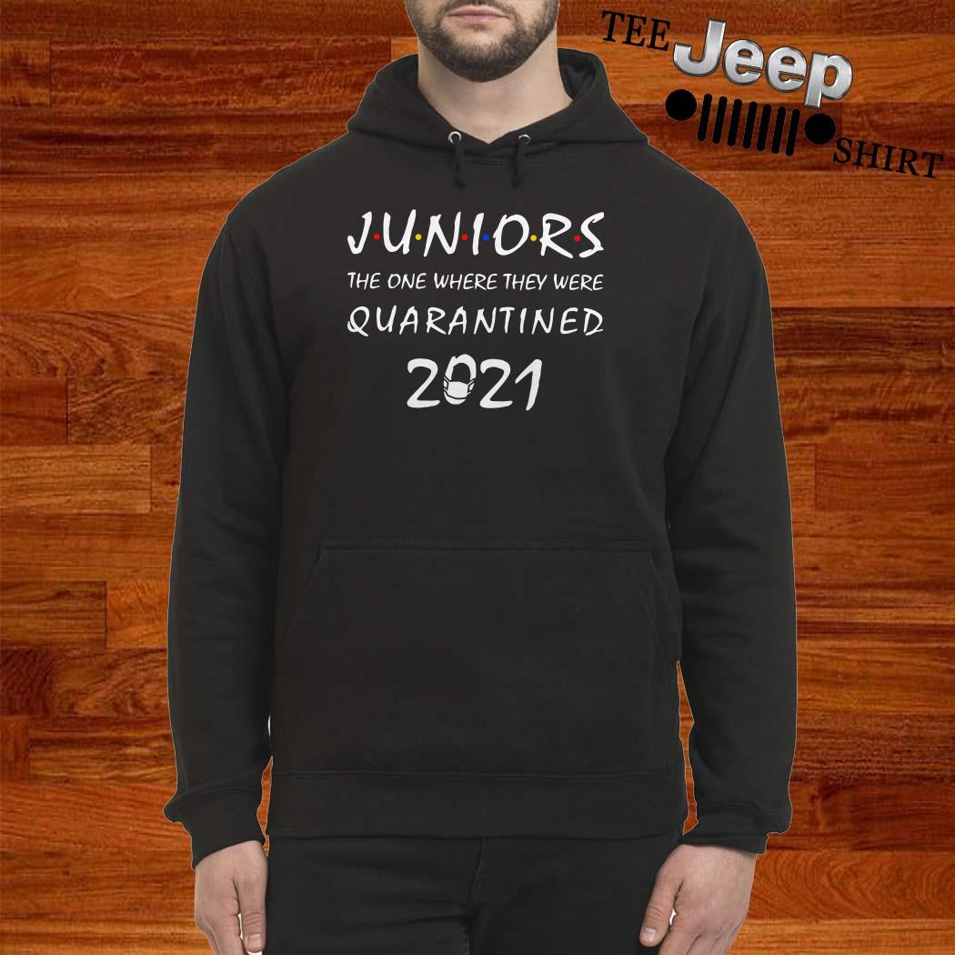 Juniors The One Where They Were Quarantined 2021 Hoodie