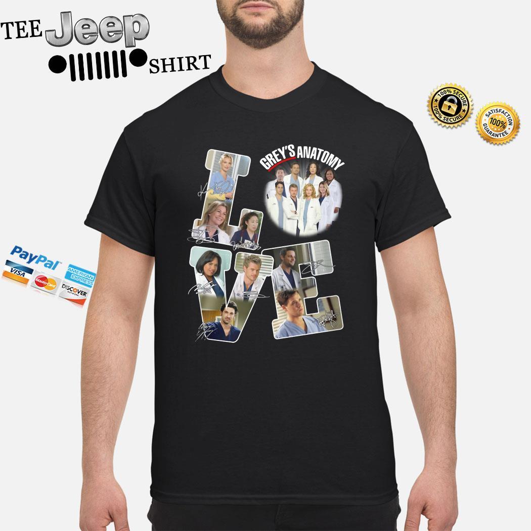 Love Grey's Anatomy Signature Shirt