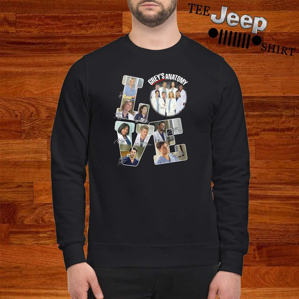 Love Grey's Anatomy Signature Sweatshirt