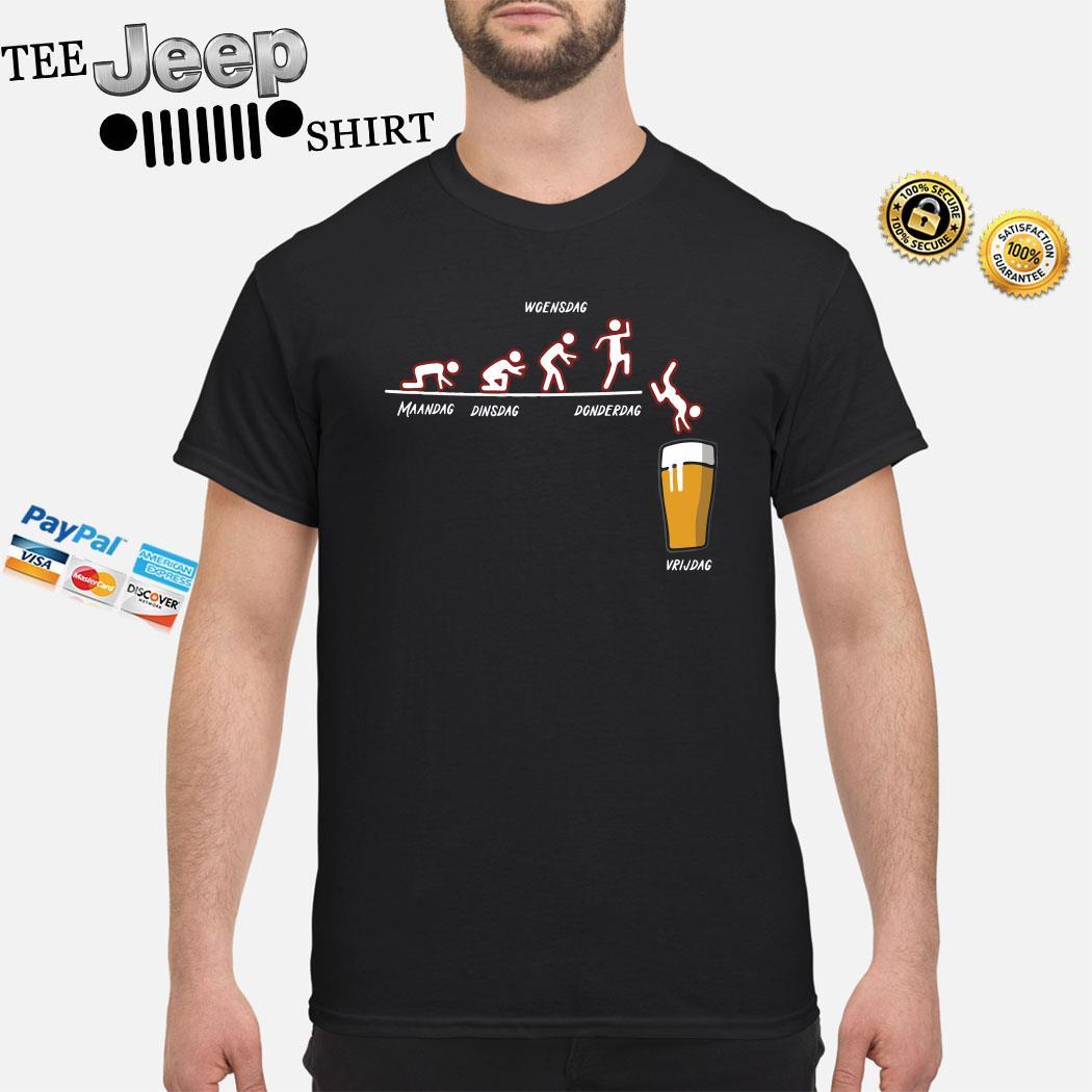 Maandag Dinsdag Woensdag Donderdag Vrijdag Shirt