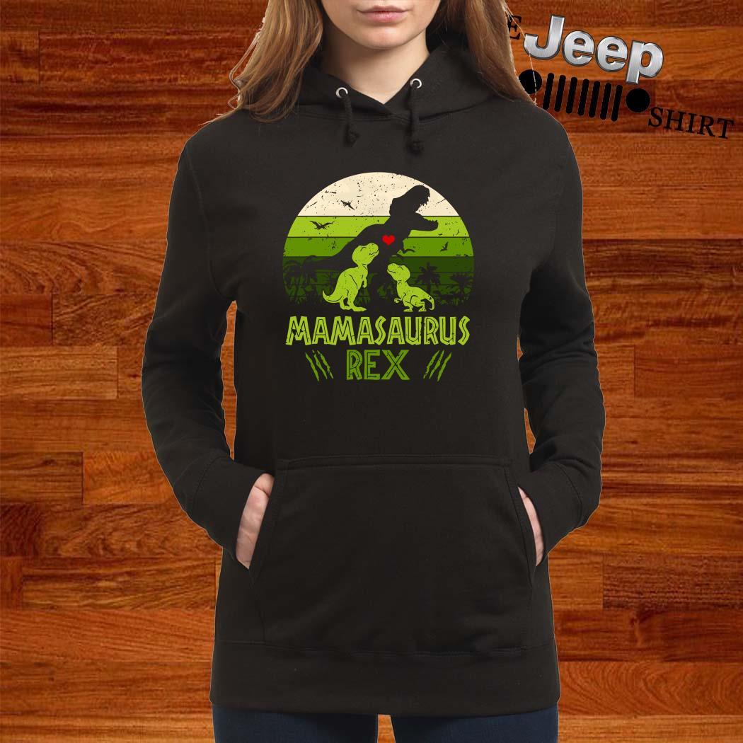 Mamasaurus Rex Vintage Hoodie
