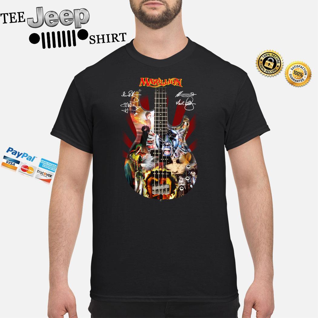 Marillion Guitar Signatures Shirt