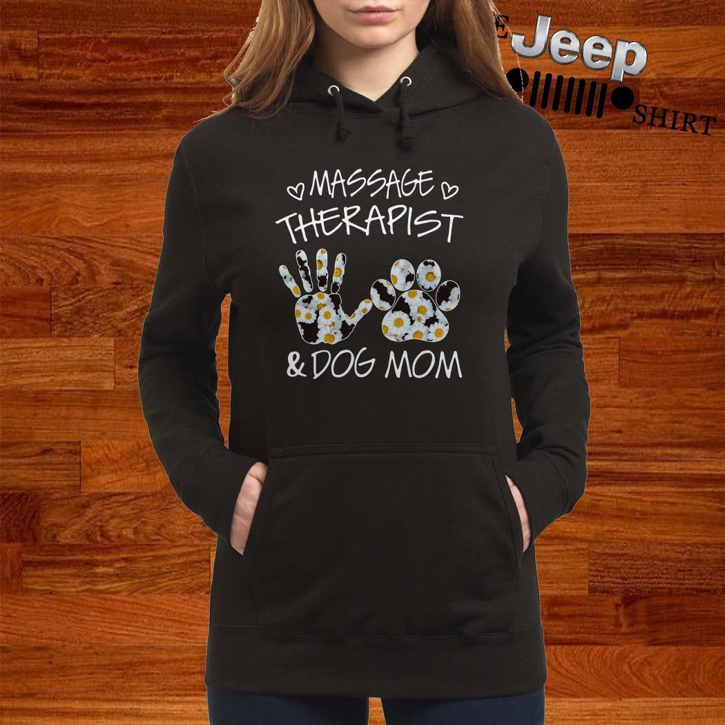 Massage Therapist And Dog Mom Hoodie