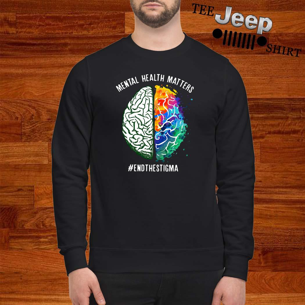 Mental Health Matters #endthestigma Sweatshirt