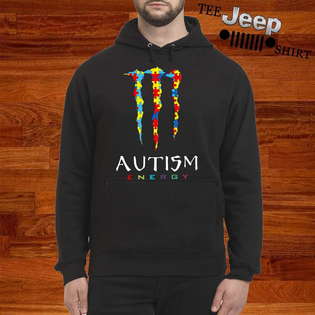 Monster Autism Energy Hoodie