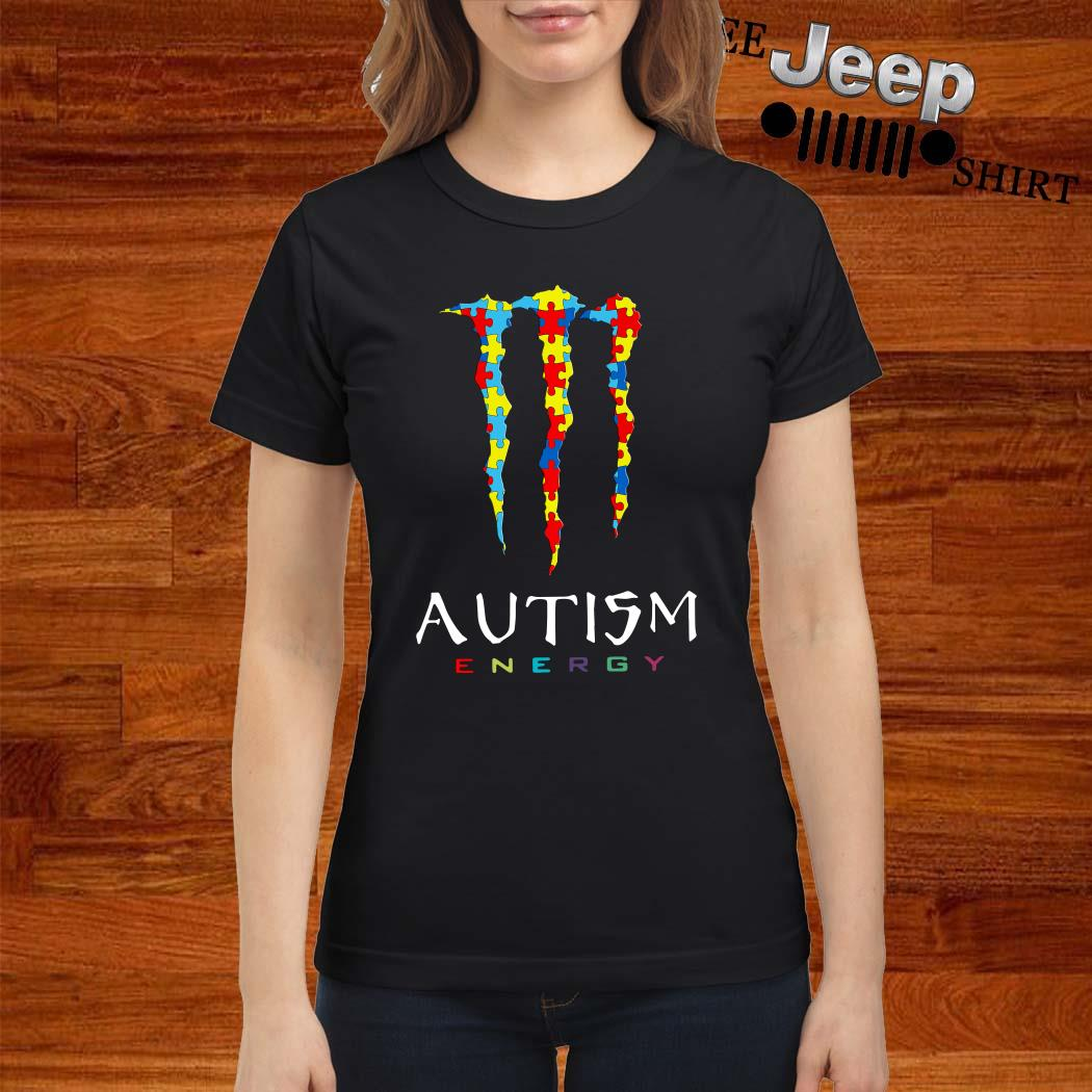 Monster Autism Energy Ladies Shirt