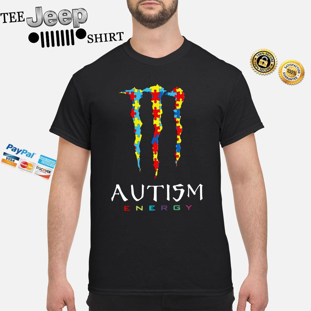 Monster Autism Energy Shirt