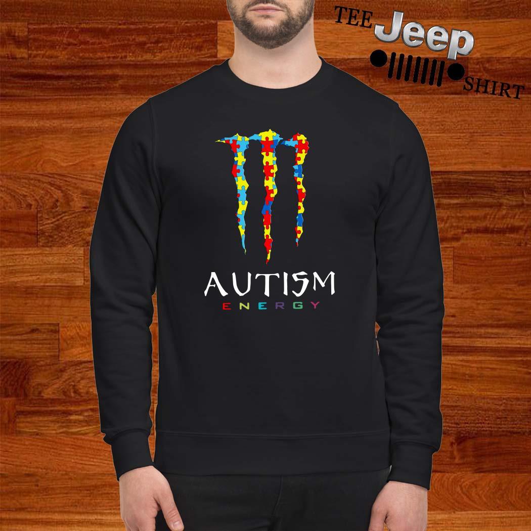 Monster Autism Energy Sweatshirt