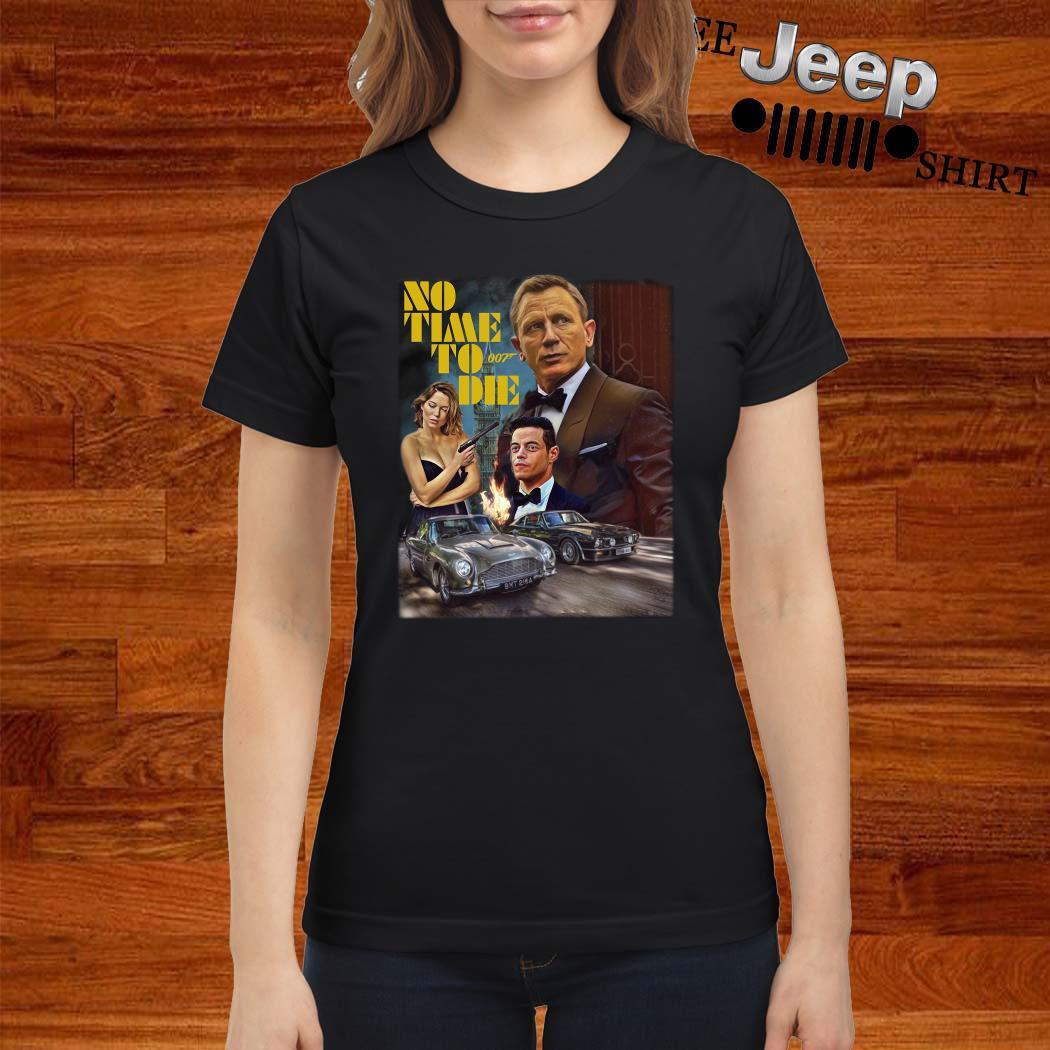No Time To Die 007 Ladies Shirt