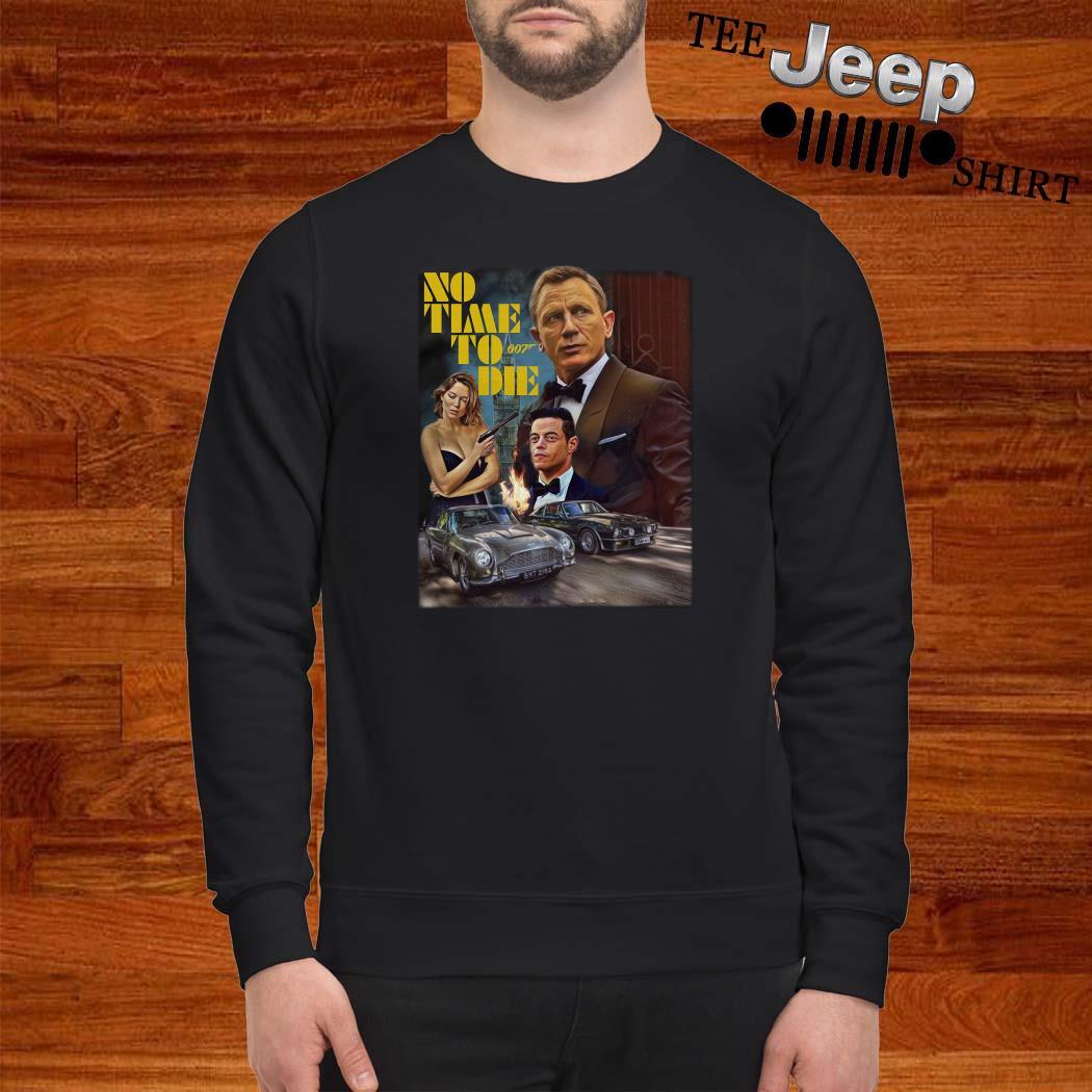No Time To Die 007 Sweatshirt
