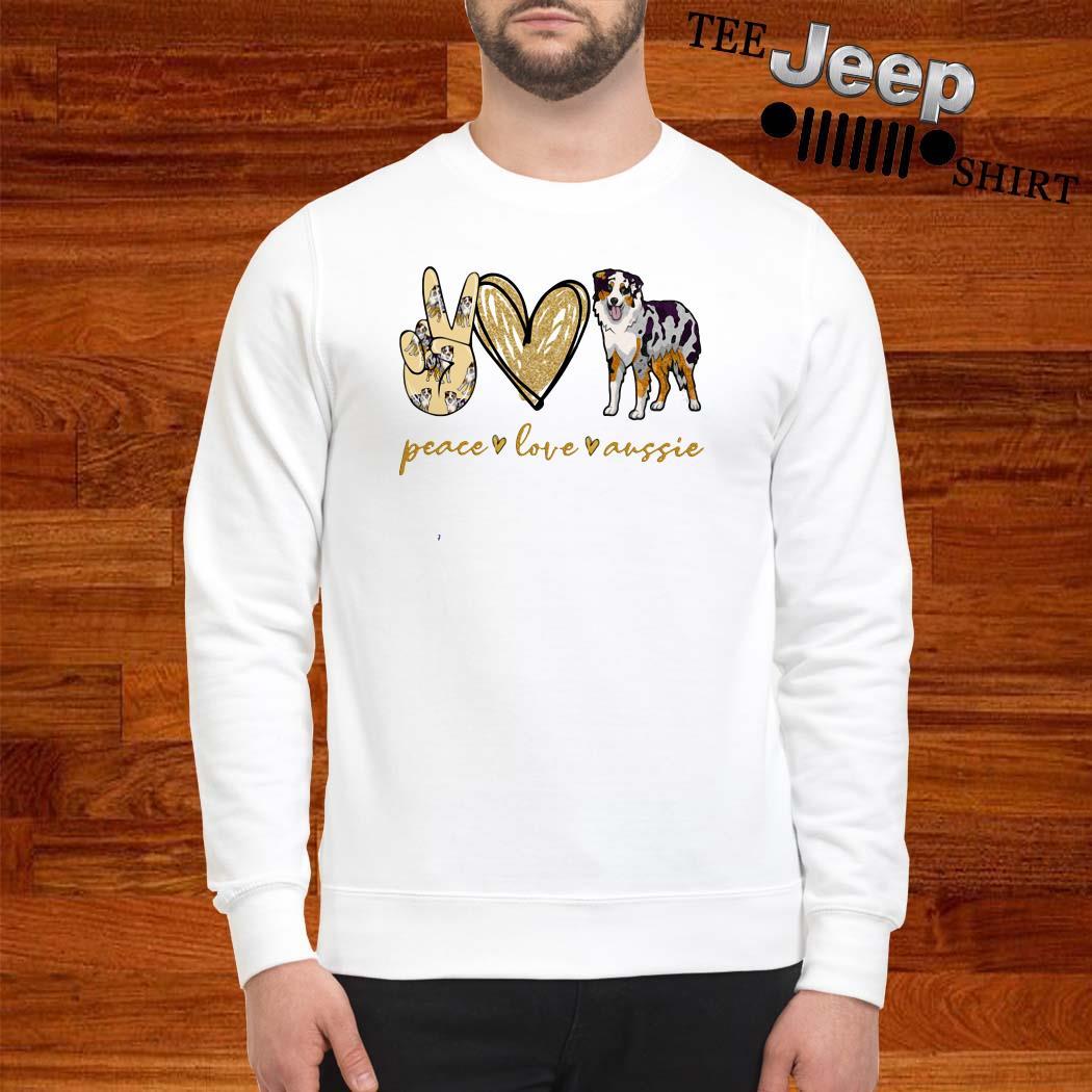 Peace Love Aussie Sweatshirt
