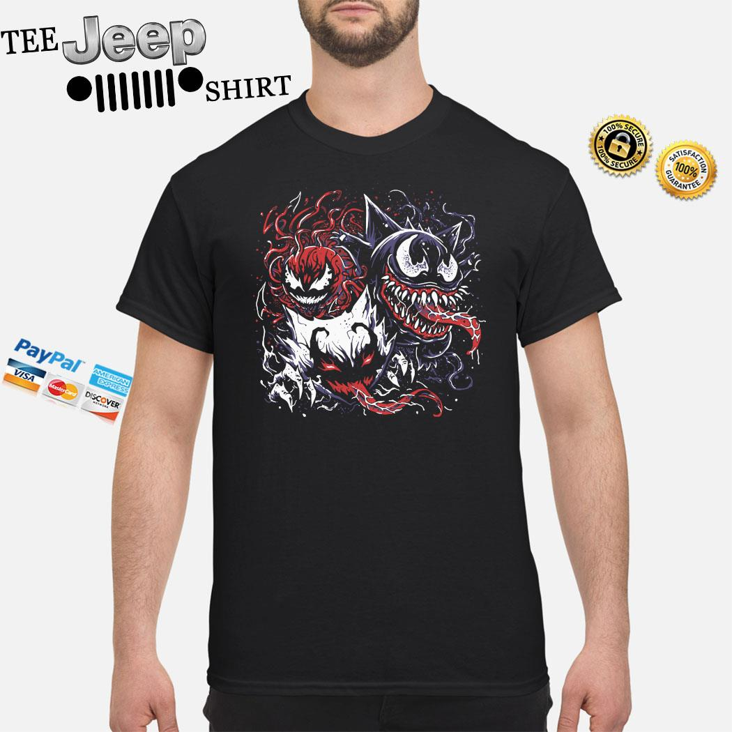 Pokemon Mixed With Venom Shirt