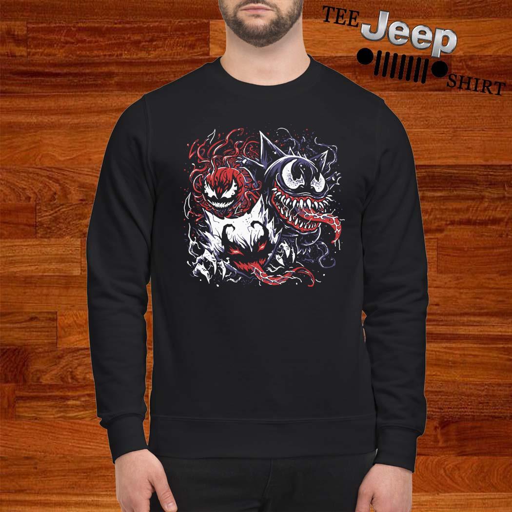 Pokemon Mixed With Venom Shirt sweatshirt