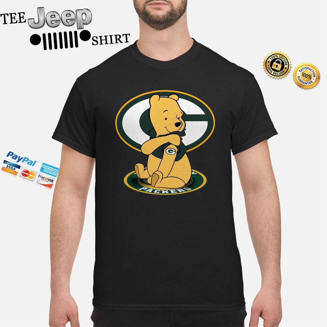 Pooh Green Bay Packers Tattoo Shirt