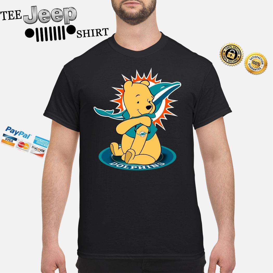 Pooh Tattoo Miami Dolphins Shirt