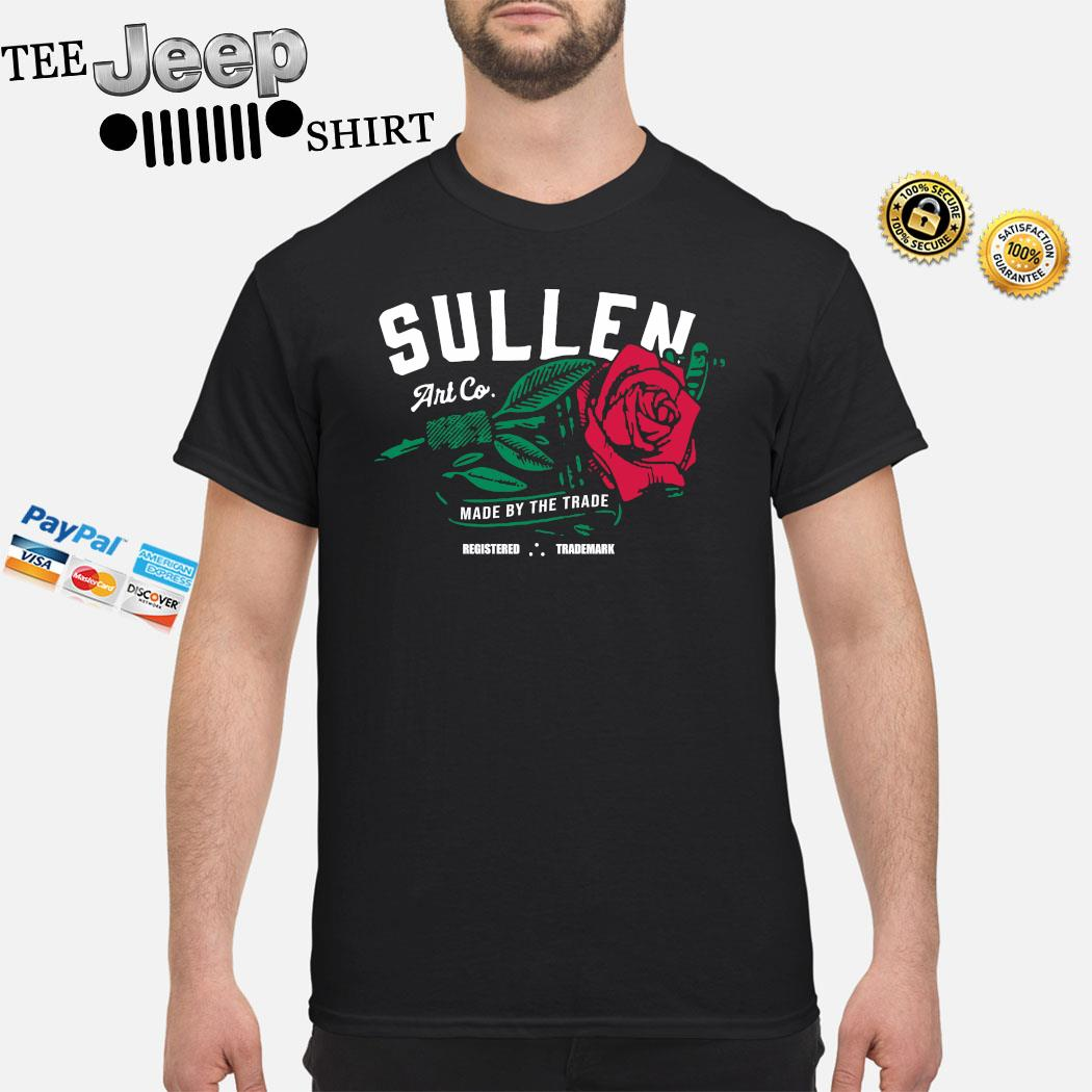 Red Rose Muscle Sullen Art Co Made By The Trade Shirt