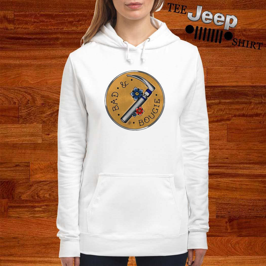 Respiratory Therapist Bad And Bougie Hoodie
