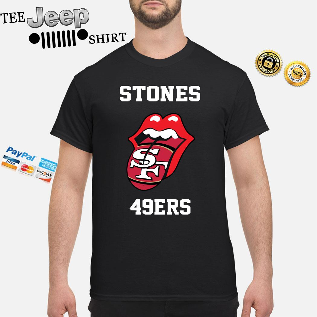 Rolling Stones San Francisco 49ers Shirt