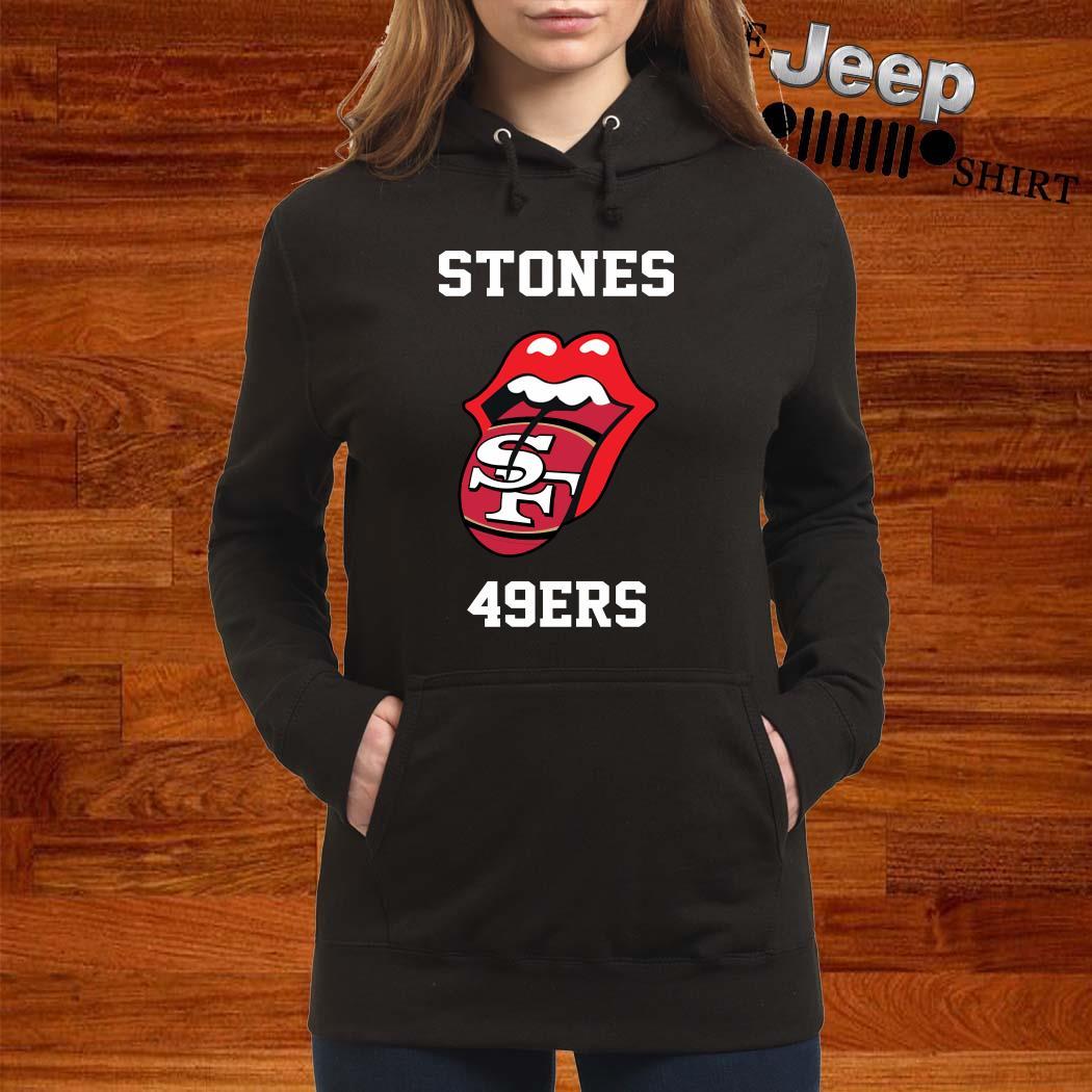 Rolling Stones San Francisco 49ers Hoodie