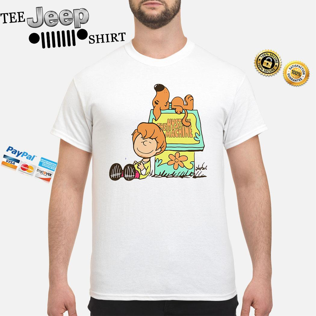 Scooby Doo And Shaggy Rogers The Mystery Machine Shirt