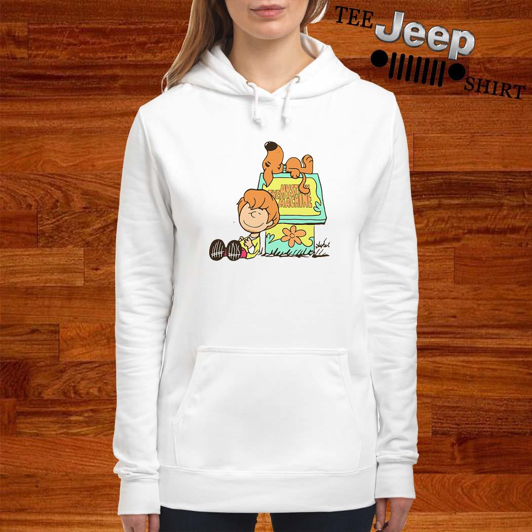 Scooby Doo And Shaggy Rogers The Mystery Machine Hoodie