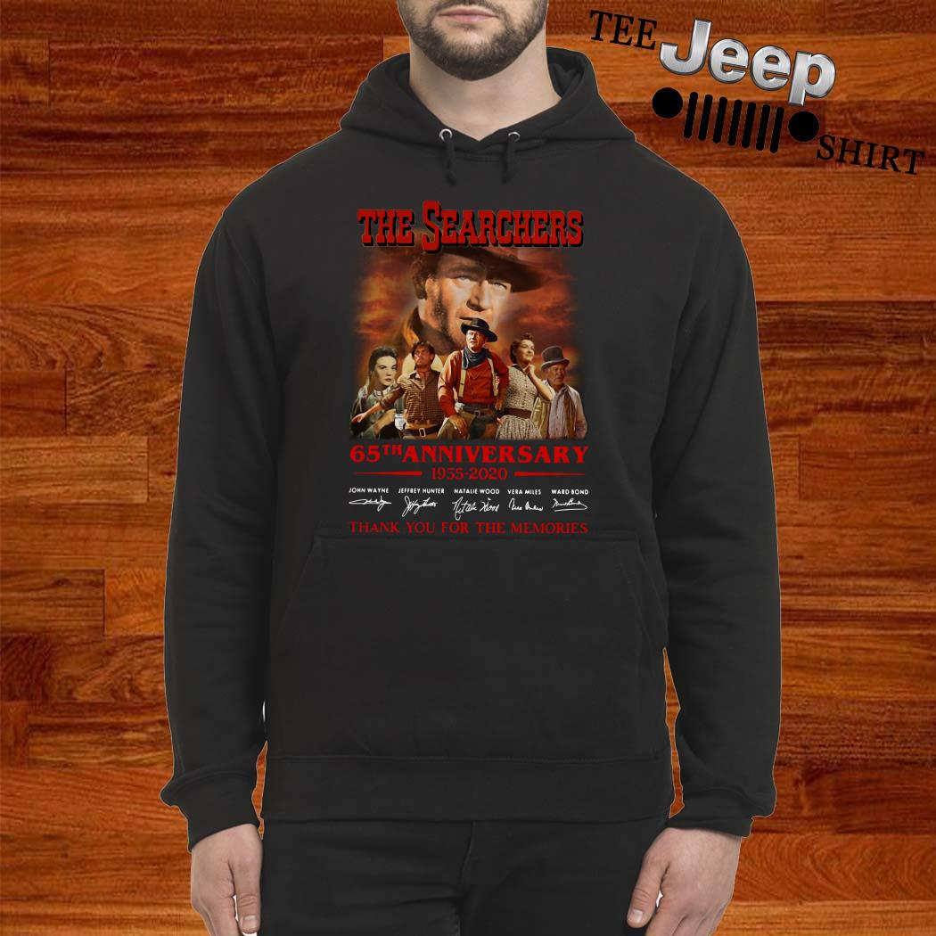 The Searchers 65th Anniversary 1955 2020 Thank You For The Memories Hoodie