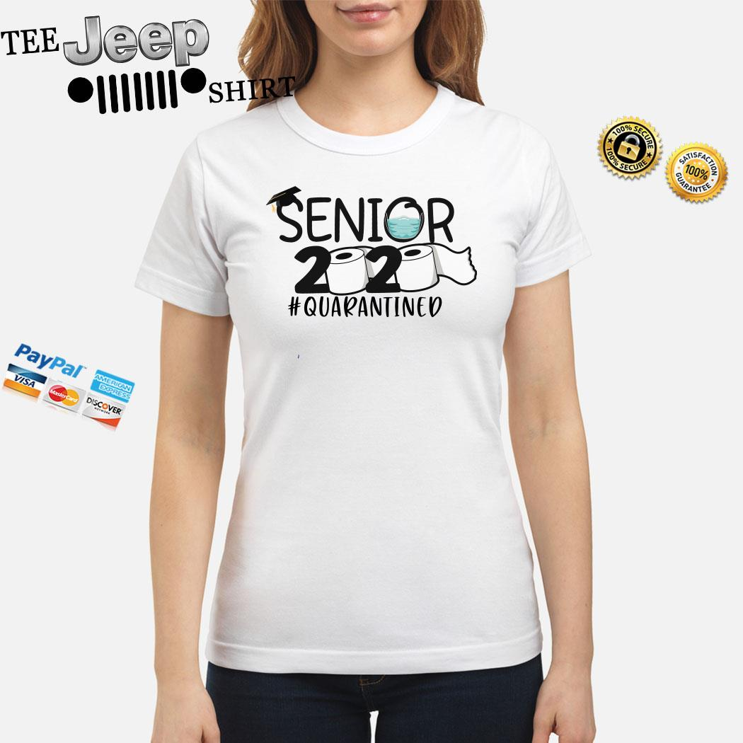 Senior 2020 #quarantined Ladies Shirt
