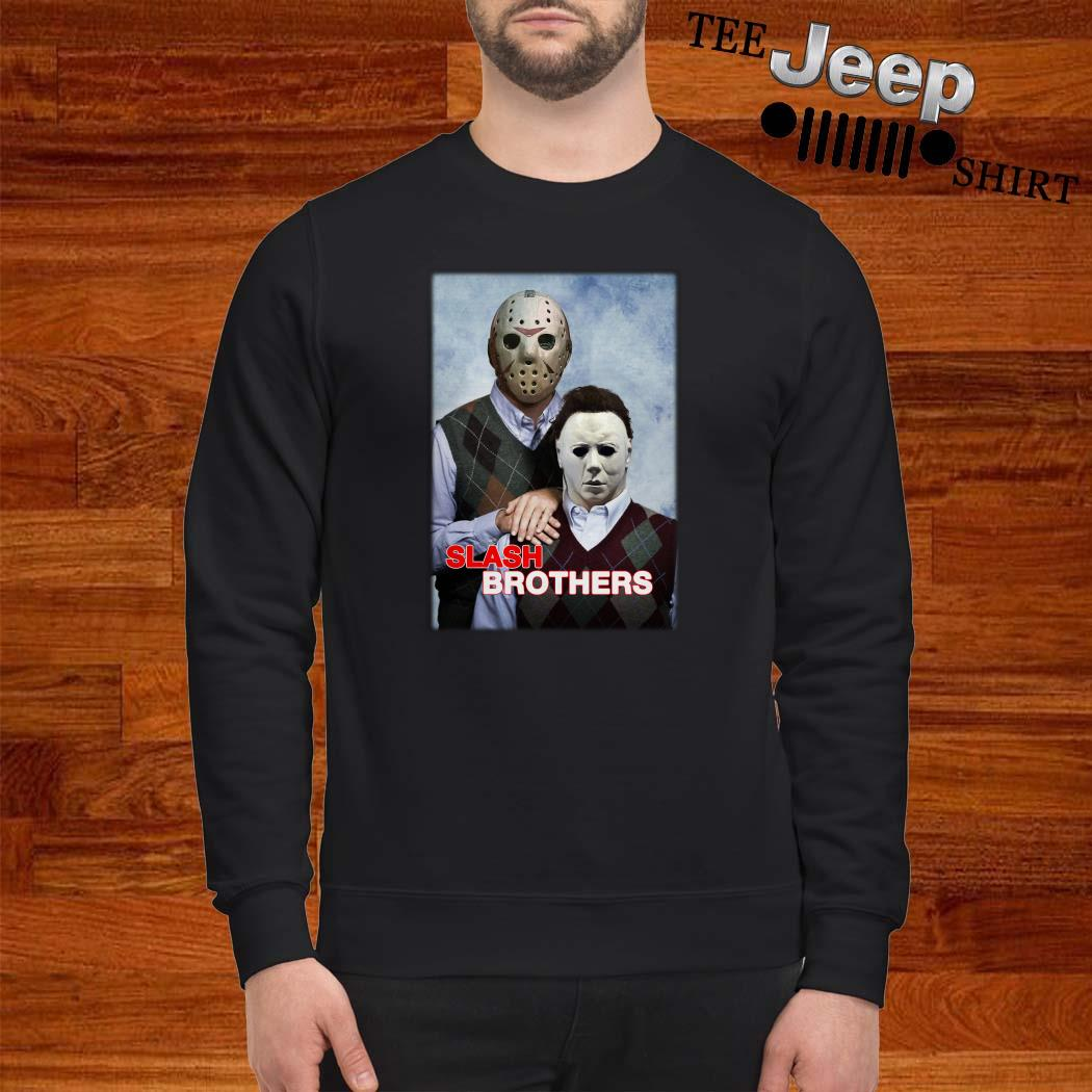 Slash Brothers Jason Voorhees And Michael Myers Sweatshirt