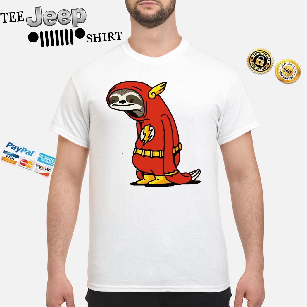 Sloth Flash Sticker Shirt